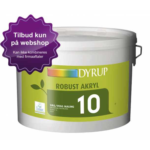 6207 DYRUP Robust Akryl Vægmaling 10