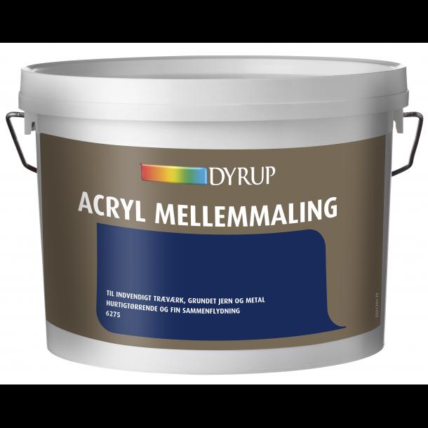 6275 Dyrup Acryl Mellemmaling
