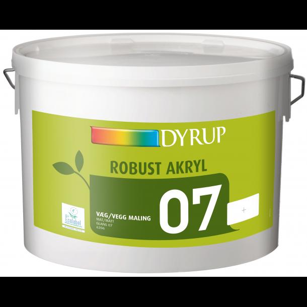 Køb 6206 Dyrup robust 07 acryl. På tilbud hos Dyrup Farver