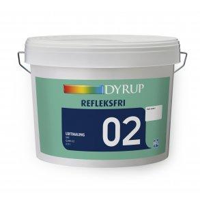 Frisk Loftmaling. Se tilbud på dækkende loftsmaling hos Dyrup Farver PP-62