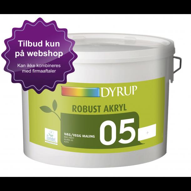 6205 DYRUP Robust Akryl Vægmaling 05